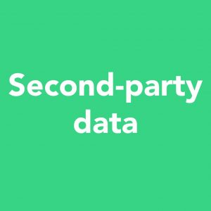 second-party data